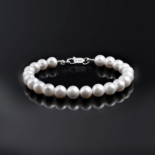 AAA Qualty Sweet Water Pearl-Bracelet-White