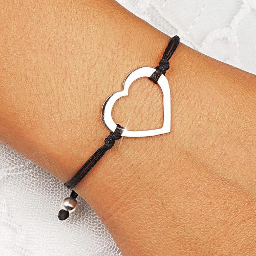 Heart Rope Bracelet