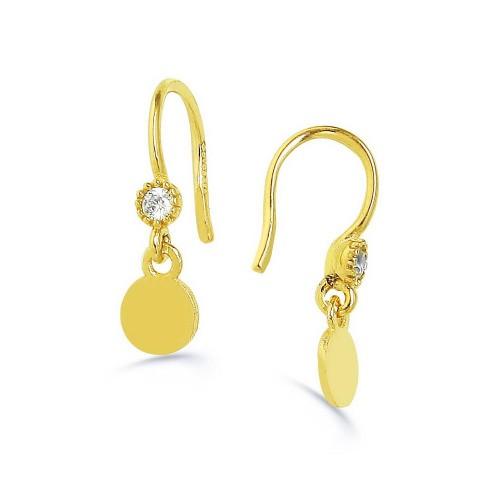 Circle Earring-Gold