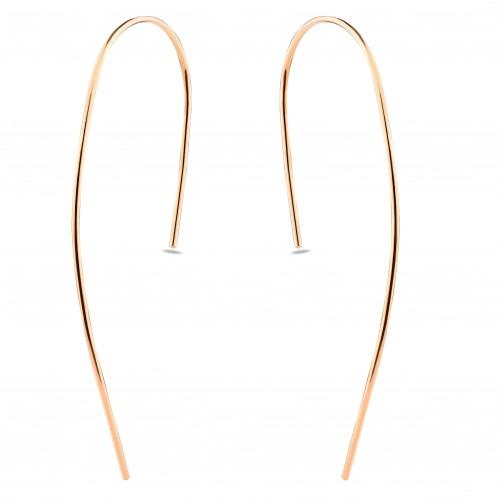 Half Stick Earring-Rose