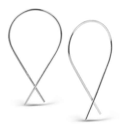 Stick Earring-White