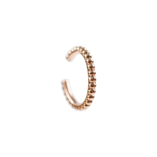 11mm Pointed Earcuff-Rose Gold Plated