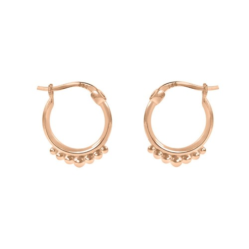 5 Points Hoops Rose Gold Color
